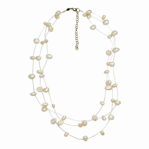Illusion Freshwater Pearl Necklace