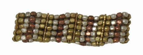 Metallic Bead Bracelet