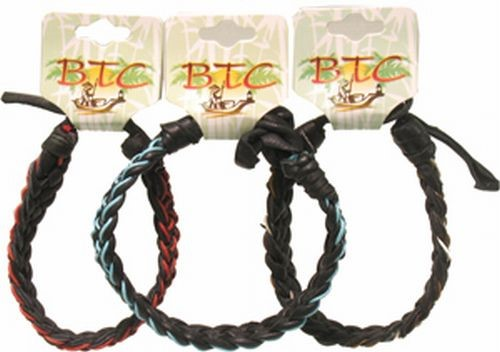 Tribal, Chuncky Leather Bracelets, Carded