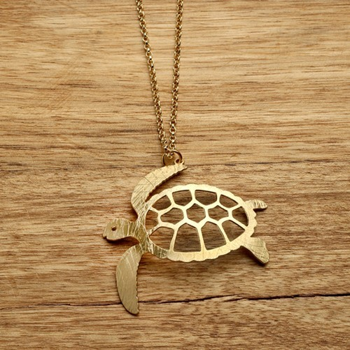 Product detail sea turtle necklace gold sea turtle necklace gold aloadofball Image collections