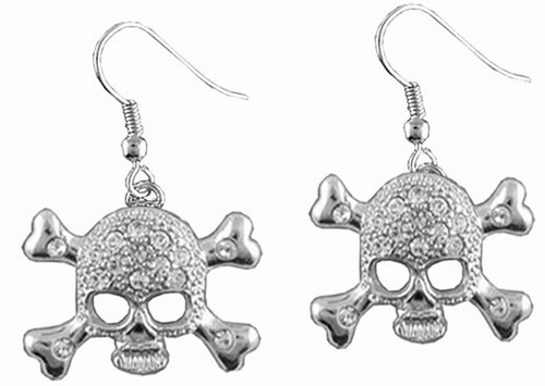 Skull and Crossbones Earrings