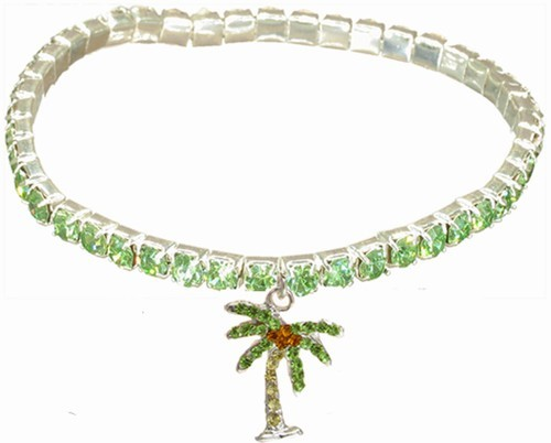 Palm Tree Stretchy Anklet