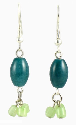 Jade Dangle Earrings
