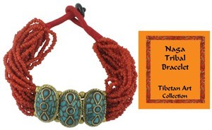 Naga Tribal Beaded Bracelet
