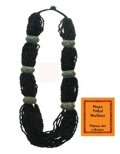 Naga Tribal Beaded Necklace