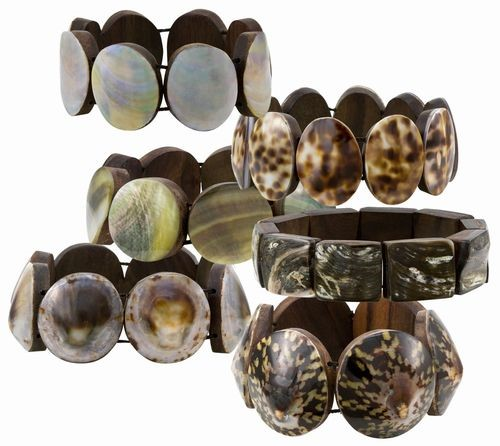 Shell Bracelet Assortment