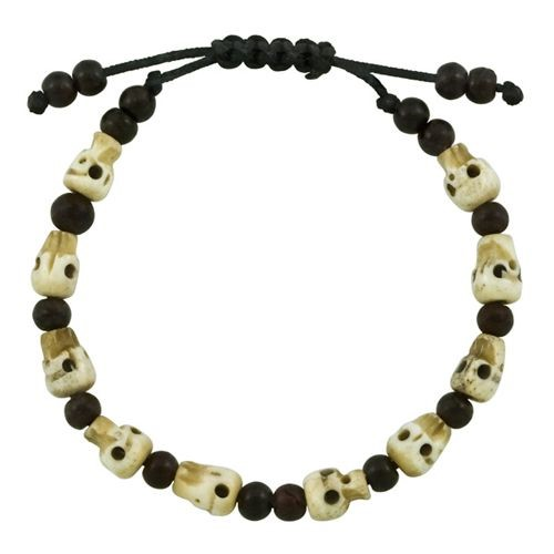 Skull Bracelet, Adjustable
