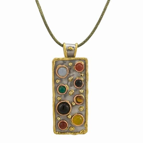 Semi-Precious, Multi Stone Necklace