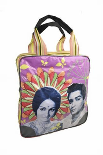 Coated Cotton Bolly Lovers Travel Bag