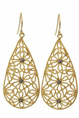 Filigree Floral Earrings