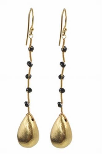 Spinel Drop Earrings