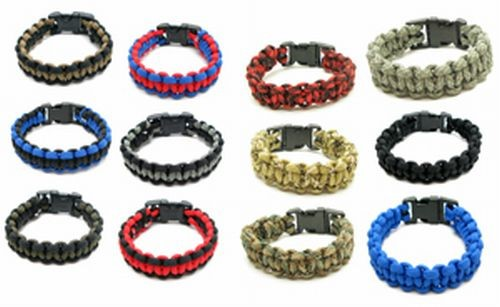 Para Cord Bracelet Assortment Display Refill
