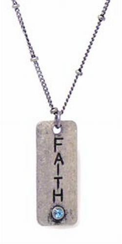 Petites Necklace, Faith
