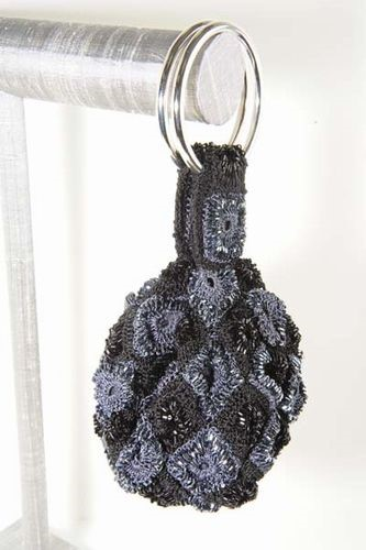 Crocheted Pouch Wristlet