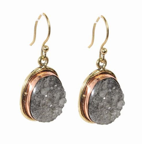 Quartz Stone Earrings