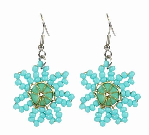 Bright Flowers Earrings