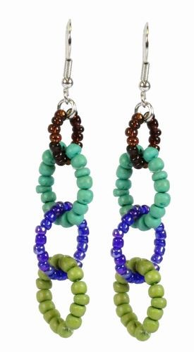 Bead Links Earrings