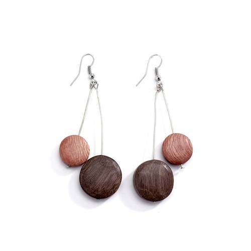 Cascading Reversible Discs Earrings