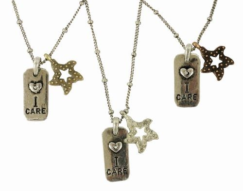 Coral Reef I Care About Necklace
