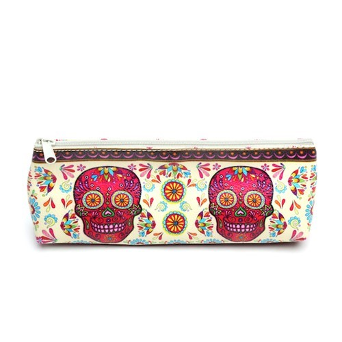 Sugar Skull Pencil Pouch