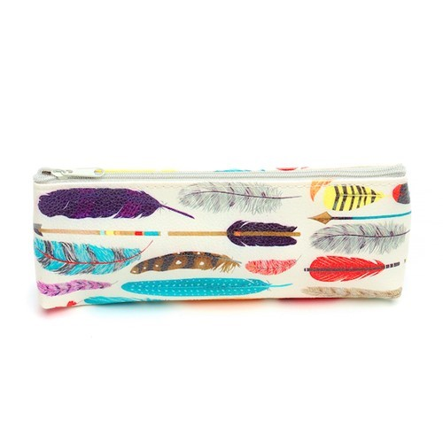 Feather Pencil Pouch