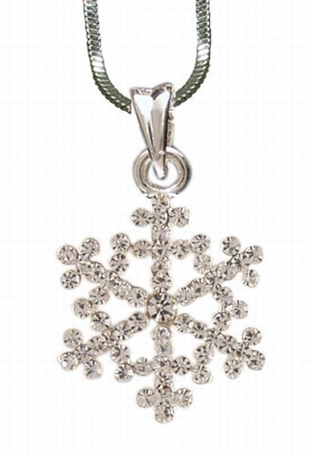 Product Detail - Snowflake 3 Necklace