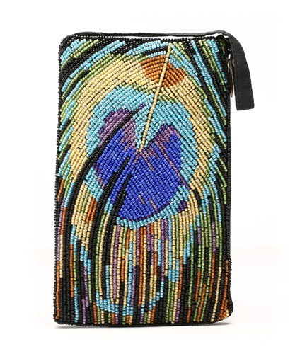 Peacock Feather Club Bag