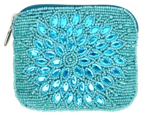 Night Bloom Sea Coin Purse