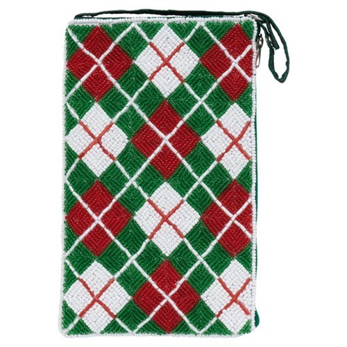 Club Bag Christmas Plaid