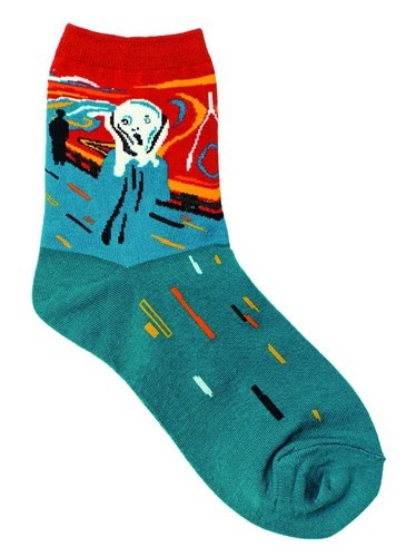 Munch The Scream Socks