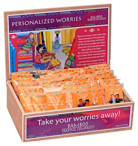 Personalized Worry Dolls Asst.