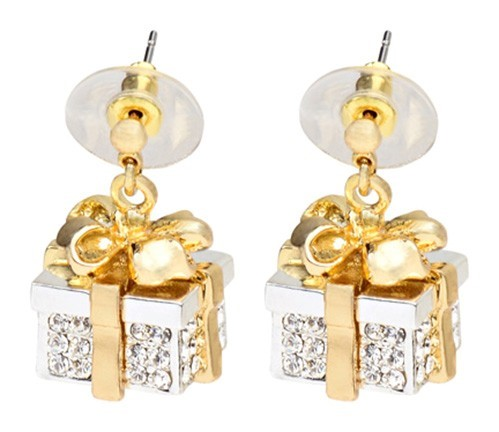 Re-Gift Drop Earring