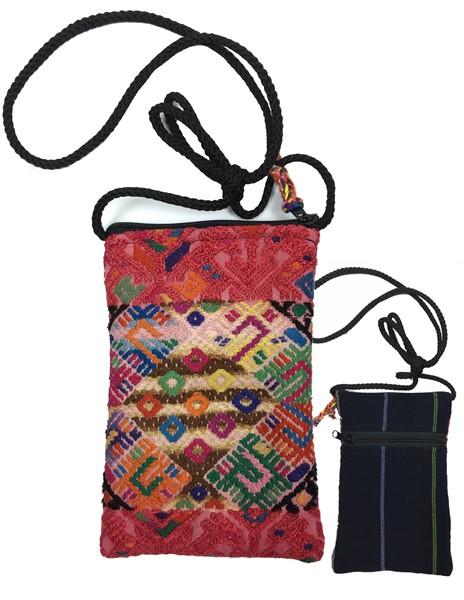 Huipil Phone Purse