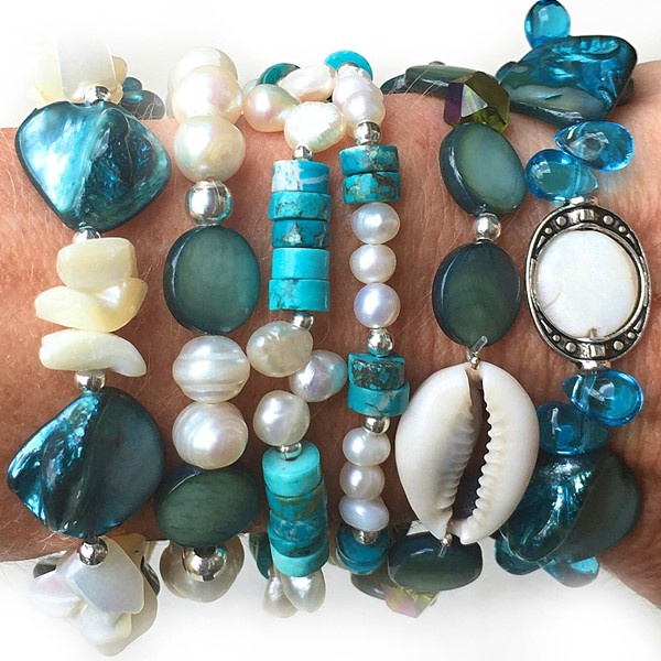 Mermaid Found Bracelet Assortment