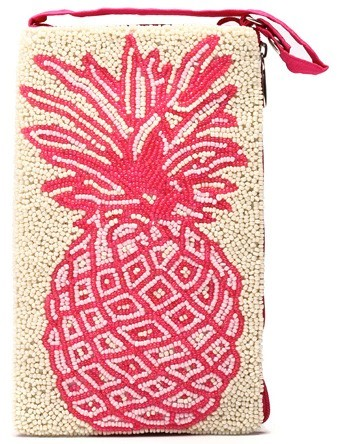 Pink Pineapple Club Bag