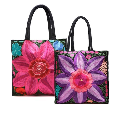 Large Flower Bag