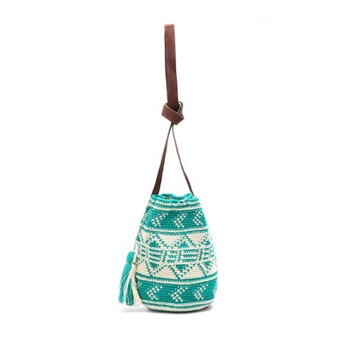 Bella Bucket Bag, Teal