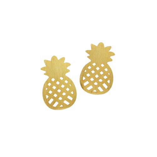 Mini Pineapple Earrings