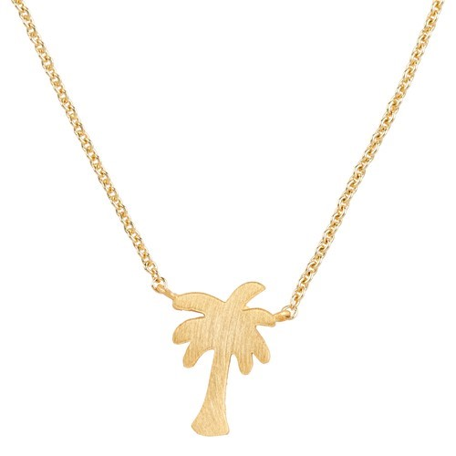 Mini Palm Tree Necklace