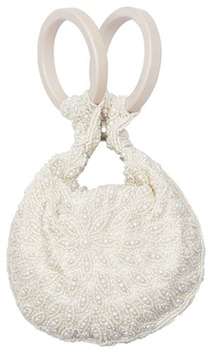 Bangle Bag Pearl Floral