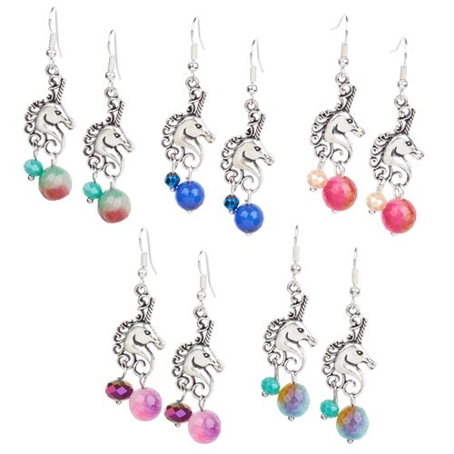 Unicorn Earrings Assorted Colors