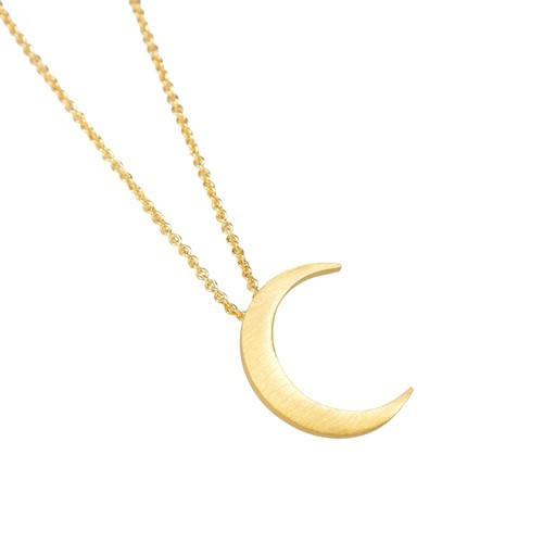 Mini Cresent Moon Necklace