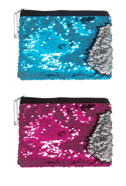 Mermaid Sequin Cosmetic Bag