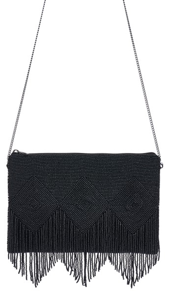 Clutch Black Cross Body