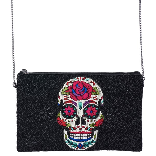 Cross Body Sugar Skull