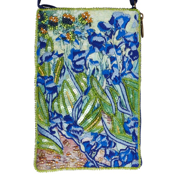 Club Bag Blue Irises