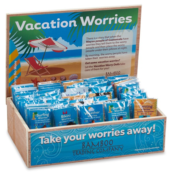 Vacation Worry Dolls