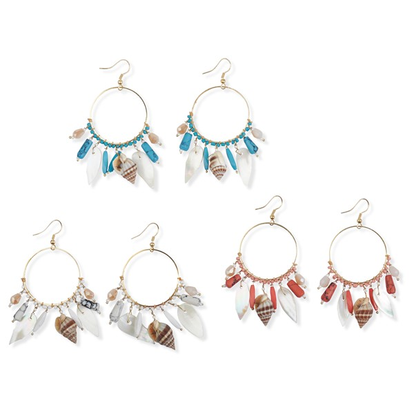Voyager Shell Earrings