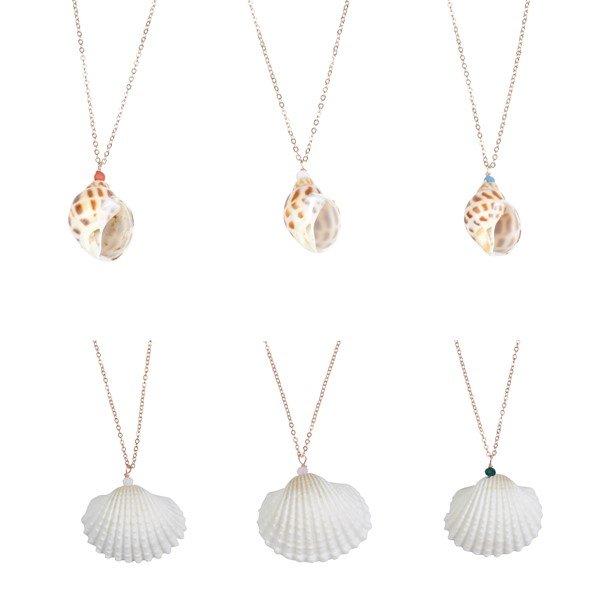 Voyager Shell Necklaces