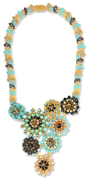 Statement Sunburst Necklace